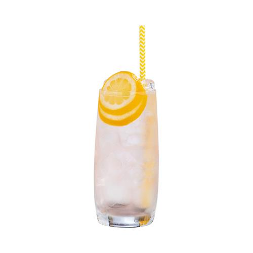 Rhubarb & Ginger Collins
