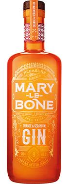 Marylebone Orange & Geranium Gin, 70cl