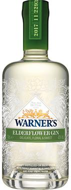 Warner's Elderflower Gin 70cl
