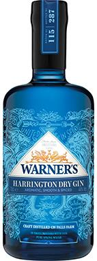 Warner's Dry Gin 70cl