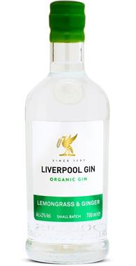 Liverpool Lemongrass & Ginger Gin, 70cl